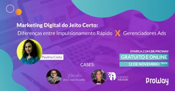 Webinar Gratuita Marketing Digital do Jeito Certo!