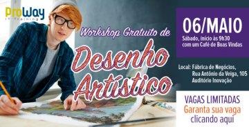 Workshop Gratuito de Desenho Artístico
