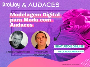 Workshop Gratuito Modelagem Digital para Moda com Audaces