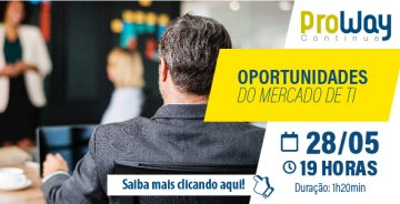 WorkShop Gratuito: Oportunidades do mercado de TI