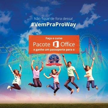 Promoção de Outubro: Aprenda tudo sobre o Pacote Office e ganhe um Passaporte Beto Carreiro