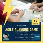O workshop Agile Planning Game é um jogo focado no aprendizado que, em 8 horas de treinamento simula um cenário de 60 dias de planejamento de um novo software, desde a preparação do backlog, quebra de histórias, estimativa (será que precisa?), priorização