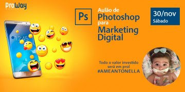 Aulão de Photoshop para Marketing Digital