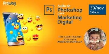 Aulão de Photoshop para Marketing Digital