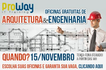 Oficinas Gratuitas de Arquitetura e Engenharia