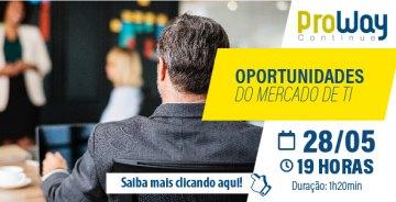 WorkShop Gratuito: Oportunidades do mercado de TI