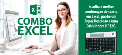 Promoção Combo Excel!