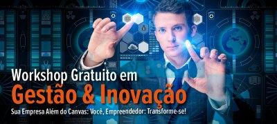Workshop Gratuito em Gestão & Inovação