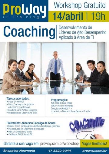 ProWay promove Workshop Gratuito Líderes de Alto Desempenho (COACHING) - Aplicado a TI
