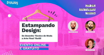 Evento Online Estampando Design