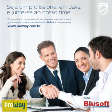 Programa: Seja um Profissional Java e junte-se ao Time da Philips