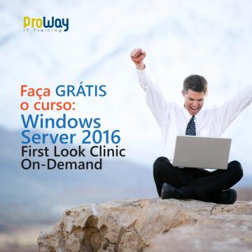 Promoções e Vantagens Especiais para os cursos de Windows Server