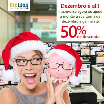 ProWay lança vantagens exclusivas para treinamentos que iniciarão em dezembro/2016