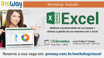 Workshop Gratuito de Excel