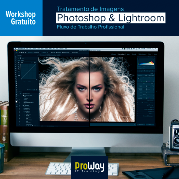 Workshop Gratuito Tratamento de Imagens Photoshop e Lightroom